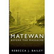 Matewan Before the Massacre: Politics, Coal and the Roots of Conflict in a West Virginia Mining Community, Paperback/Rebecca J. Bailey