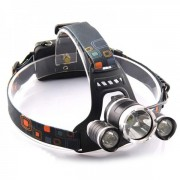 Lanterna Frontala LEDuri 5W cu Zoom si Acumulatori 12V 220V MX5899T6