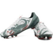 Puma evoSPEED 4.3 Graphic FG Football Shoes(Grey, White)