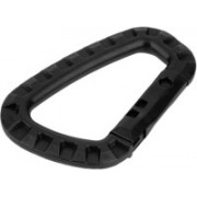 Futaba Mountaineering D Shape Buckle Snap Clip Luggage Strap(Black)