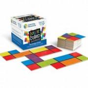 Set educativ de strategie - Joc de asociere a culorilor Cub multicolor