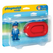PLAYMOBIL-6795 Man with Water Raft