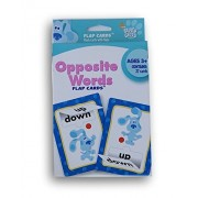 Blue's Clues Opposite Words Flap Flash Cards