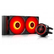 Liquid Cooling for CPU, DEEPCOOL GAMMAXX L240T RED (DP-H12RF-GL240TR)