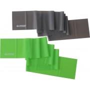Schildkröt Fitness - Weerstandsband - Set Van 2 - Groen/Zwart