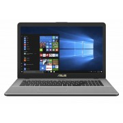 "Laptop Asus VivoBook Pro 17 N705UN-GC019, 17.3"" FHD LED-Backlit Anti-Glare, Intel Core i7-7500U, nVidia MX150 4GB, RAM 8GB DDR4, HDD 1TB + SSD 128GB, EndlessOS"