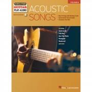 Hal Leonard Deluxe Guitar Play-Along: Acoustic Songs