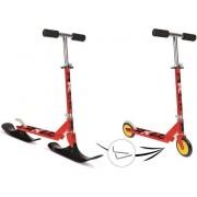 Slide Scooter 2 in 1 - Step en slee / sneeuwscooter kinderen max 50 kilo