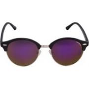 Laurels Oval Sunglasses(Violet)