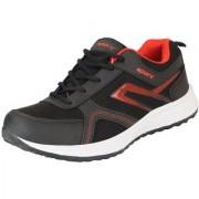 Sparx Men's Black Red Mesh Running/Walking/Training/Gym Shoes