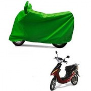 Intenzo Premium Full green Two Wheeler Cover for Yo Bike Yo EXL