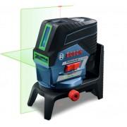 Bosch kombinovani laser GCL 2-50 CG sa zelenim linijama lasera sa RM 2 nosačem, baterijom i punjačem u L-Boxx koferu (0601066H00)