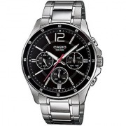 Casio Enticer Black Dial Mens Watch - Mtp-1374D-1Avdf (A832)