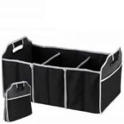 4tens Car Boot Storage Organizer(Black)