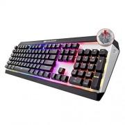 Cougar gaming Teclado mecánico para juegos Cougar Attack X3 RGB, Cherry MX Red Switches