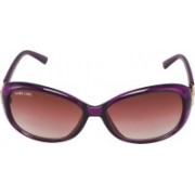 Park Line Over-sized Sunglasses(Brown)