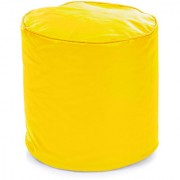 Home Story Round Ottoman Medium Size Yellow Cover Only