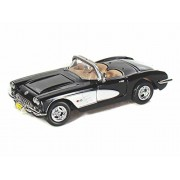 1959 Chevy Corvette Convertible 1/24 Black