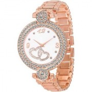 TRUE COLORS Letest fresh Arrival Rose Gold Color attractive Designer looks With 1 year Warranty Watch - For Girls