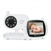 Baby Monitor Audio Video, Wireless Nanny,NEW MODEL, night vision, TFT 3,5 ,alarma temperatura,360, ,200m