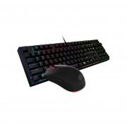 Teclado Gamer y Mouse Cooler MasterKeys Lite L combo, USB, LEDs Rojo