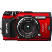 Olympus TG-5 Digitalkamera 16 Megapixel Zoom (optisk): 4 x Röd inkl. Batteri