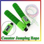Jump Fitness Rope with Counting meter Skipping Rope