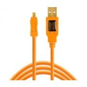 TetherPro USB 2.0 Mini-B 8 tűs kábel narancs