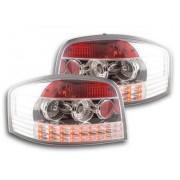 FK-Automotive fanale posteriore a LED per Audi A3 (tipo 8P) anno di costr. 03-05, cromato