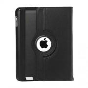 Mesh - iPad 2/3/4 Hoes - Rotatie Cover Lychee Zwart