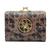 Guess Frame Coin Wallet cognac