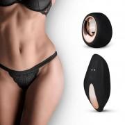 Pantyrebel - akkus, rádiós vibrációs tanga (fekete)