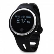 KICCY E07 Bluetooth Sport Smart pulsera pulsera pantalla tactil-Negro
