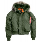 Alpha Industries N2B VF 59 Jacket Green M