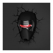 Lampara 3D Star Wars Kylo Ren The Force Awakenes Sith Lord-Negro