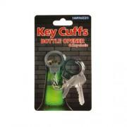 """Key Cuffs Bottle Opener and Key Chain"""