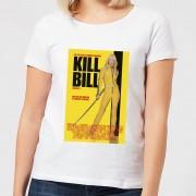 Kill Bill Poster Dames T-shirt - Wit - 5XL - Wit