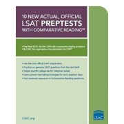 10 New Actual, Official LSAT Preptests: Preptests 52-61, Paperback/Law School Admission Council