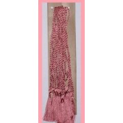 PINK BOOKMARK TASSELS (LIGHTER SHADE) FOR BOOKMARKS & CRAFTS PACK OF 10
