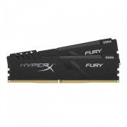 DDR4, KIT 64GB, 2x32GB, 2666MHz, KINGSTON HyperX Fury, CL16 (HX426C16FB3K2/64)