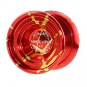 IJARP MAGICYOYO YOYO Ball Pro K8 Polished Alloy Yoyos Balls KK Bearing String Trick 1A, 3A, 5A Kids Juggling Toy with Strings Red