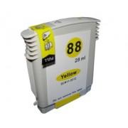 Atramentová kazeta kompatibilná s HP no. 88XL yellow (19ml)