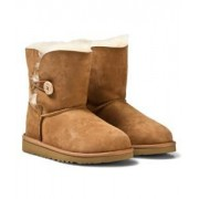 UGG Bailey Button Chestnut Stövlar Barnskor 35 (UK 4 / US 5)