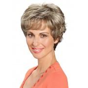 Lofty Pruik 'Karin' Lofty donkerasblond/lichtblonde highlights