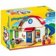 Строител ПЛЕЙМОБИЛ - Къща в покрайнините, 6784 Playmobil, 290979
