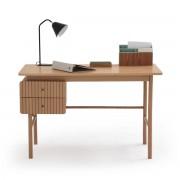 LA REDOUTE INTERIEURS Schreibtisch Groove, 2 Schubladen