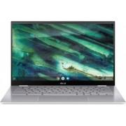 Laptop 2in1 ASUS ChromeBook Flip C436FA Intel Core (10th Gen) i3-10110U 128GB SSD 8GB FullHD Touch Chrome OS Tast. ilum. FPR