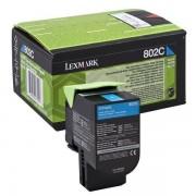 Lexmark 80C20C0 - 802C toner cian