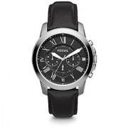 Fossil Grant Chronograph Black Dial Mens Watch - FS4812