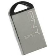 PNY USB Flash Mini M1 Attache with OTG Adapter 32 GB OTG Drive(Silver, Type A to Micro USB)